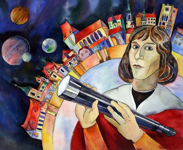 Czy Kopernik zaczesywał włosy zauszy?